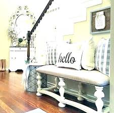 C Entrance Hall Table With Mirror Entry  And
