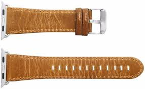 apple watch band 38mm retro vintage genuine leather iwatch strap replacement for apple watch series