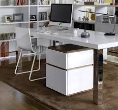chrome office desk. contemporary multi chrome leg dining table and desk by temahome thumbnail office o