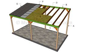 Wooden Carport Plans Myoutdoorplans Free Woodworking Plans And Wood Lean To Carport Plans