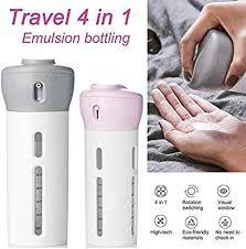 ZHUOTOP Travel Bottle <b>Set Empty</b> Sub-Bottle Leakproof <b>Refillable</b> ...