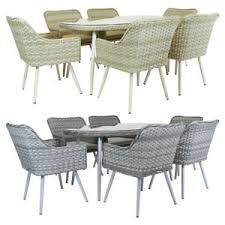 grey rattan dining table. image is loading charles-bentley-premium-6-seater-rattan-dining-set- grey rattan dining table z