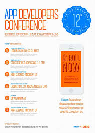 Download Free Digital Conference Flyer Psd Template