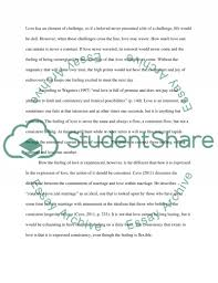 genuine love essay example undergraduate love essay example