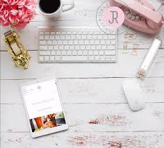 white wood desk top. Plain Desk White Wood Desktop Scene IPad Mockup With Desk Accessories For Instagram  Blogs Etc Throughout Desk Top O