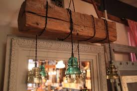 creative home design endearing a custom made reclaimed wood beam chandelier made to order