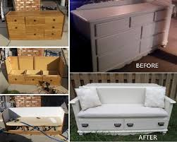 furniture repurpose ideas. DIY-Dresser-Bench-home-design. Repurposing Old Furniture Repurpose Ideas