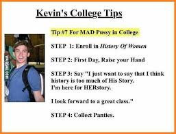 How to get pussy in college