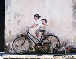 bicycle wall art penang