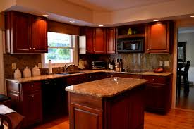 Dark Wood Kitchen Cabinets Kitchen Tagged Honey Oak Kitchen Cabinets Wall Color Archives