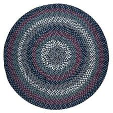 country medley navy blue multi 6 ft x 6 ft round indoor outdoor