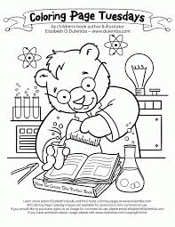 Small Picture Science Coloring Sheets Coloring Home