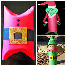 9 Christmas Crafts That Use Toilet Paper Rolls  BlitsyToilet Paper Roll Crafts For Christmas