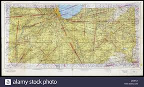 Sectional Chart Search Chicago U 7 Sectional Aeronautical Chart Nby 7034 Stock