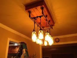 jar lighting. Lighting:Traditional Mason Jar Lamp Ideas Diy Lighting Lights Tea Light Oil Fairy Chandelier Lantern S