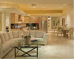 dining room tile flooring. inspiration for a contemporary open concept marble floor living room remodel in san diego with beige dining tile flooring
