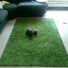 ikea high pile rug green furniture on