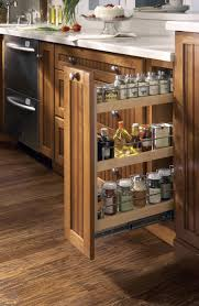 Diy Kitchen Pull Out Shelves Slide Out Spice Racks For Kitchen Cabinets
