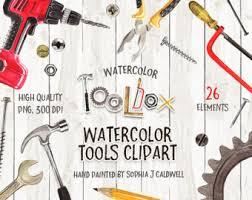 woodworking tools names. tool clipart, watercolor graphics, instant download, png files, woodworking tools, scrapbooking tools names