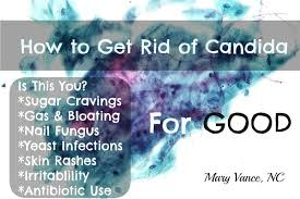 how to get rid of candida overgrowth