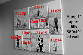 canvas picture wall ideas collage