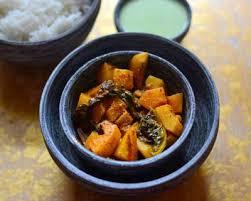 kashmiri style dum monji recipe knol khol in yogurt