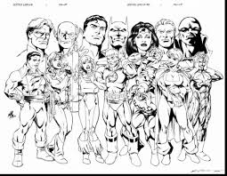 Small Picture impressive justice league coloring pages dokardokarznet