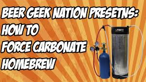 How To Force Carbonate Homebrew The Simple Way Beer Geek Nation Craft Beer Reviews