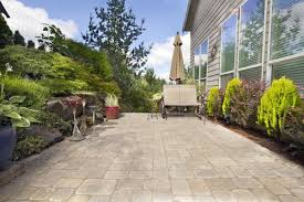 affordable cement patio improvements