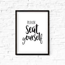 please seat yourself sign bathroom sign by feelgooodprintables