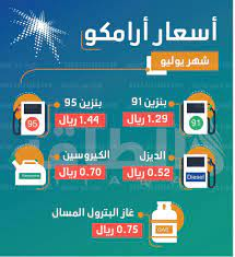سعر البنزين اليوم في السعودية من شركة أرامكو وبداية العمل بها من صباح الغد  - كورة في العارضة