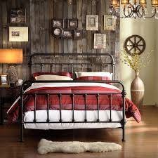 Full Antique Dark Bronze Iron Metal Bed Frame Victorian Headboard Bedroom  Set in Antiques, Furniture, Beds & Bedroom Sets,