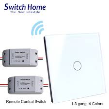Rf Light Switch Remote Rf Remote Control Light Switch Eu Glass Wireless Wall Touch Switch Dc Power Supply Receiver Transmitter Controller Switch