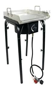 outdoor stove top get ations a stainless steel griddle with heavy duty outdoors master chef outdoor propane stove top