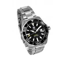 buy discount tag heuer watches from precisiontime co uk the uk s tag heuer way211a ba0928 aquaracer automatic mens watch