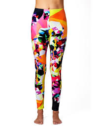 Yoga Leggings Patterned