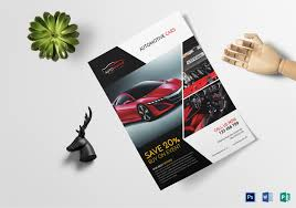 Automotive Car Sales Flyer Design Template In Psd Publisher Word