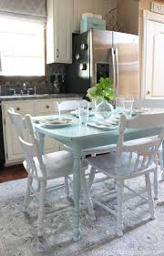 how to paint a laminate kitchen table confessions of serial do inside painting decorations 7