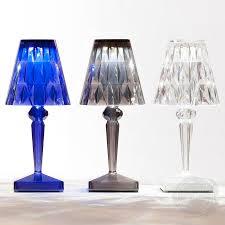 led table lighting. Kartell Portable LED Rechargeable Battery Table Lamp Led Lighting