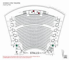 Lyric Theatre Seating Chart London Amazing Qpac Lyric Theatre Seating Plan Seating Chart
