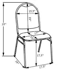Slipcover Price Chart Banquet Chair Cover Sizing Chart Banquet Chair Covers