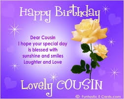 Saying Happy Bday Cousin FREE Online FAMILY Birthday Cards E Best Cousin Saying Pics