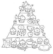 Printable Food Pyramid For Kids Food Pyramid With Healthy And Fresh