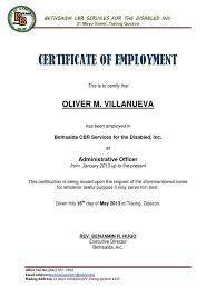 Job Certificate Sample Letter Cepoko Com