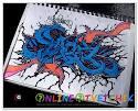 Пошаговые граффити