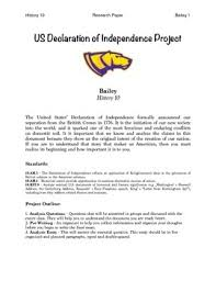 declaration of independence dbq teaching resources teachers pay  declaration of independence analysis essay packet declaration of independence analysis essay packet