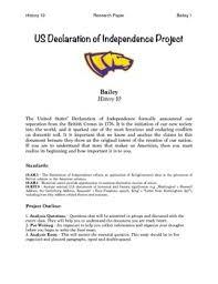 declaration of independence dbq teaching resources teachers pay  declaration of independence analysis essay packet declaration of independence analysis essay packet