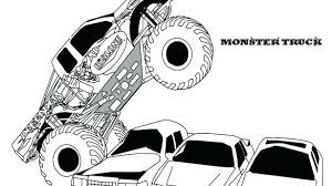 Monster Truck Colouring Pages Predragterziccom