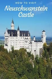 how to visit neuschwanstein castle in germany