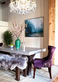 modern dining room colors. Glamorous Dining Room With Chandelier Modern Colors N